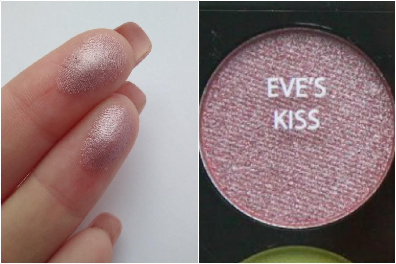 Палетка Sleek Garden of Eden - свотч Eve's kiss
