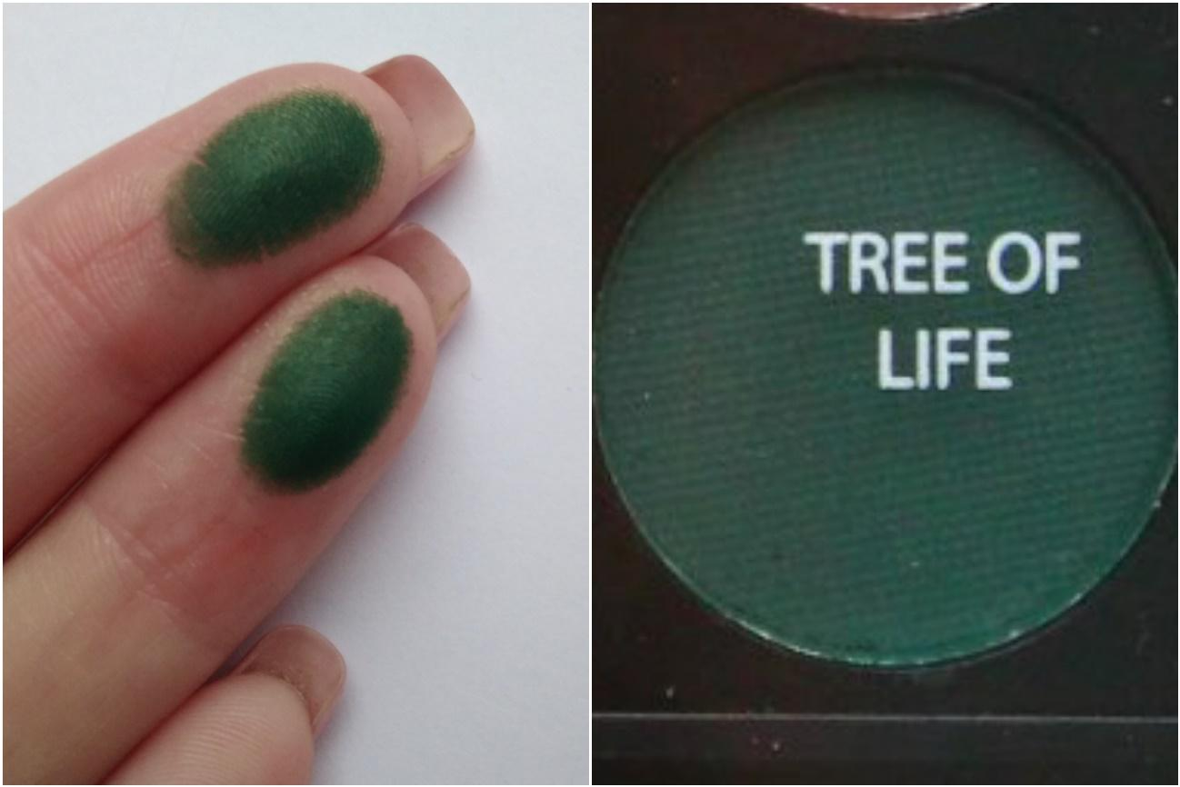 Палетка Sleek Garden of Eden - свотч Tree of life