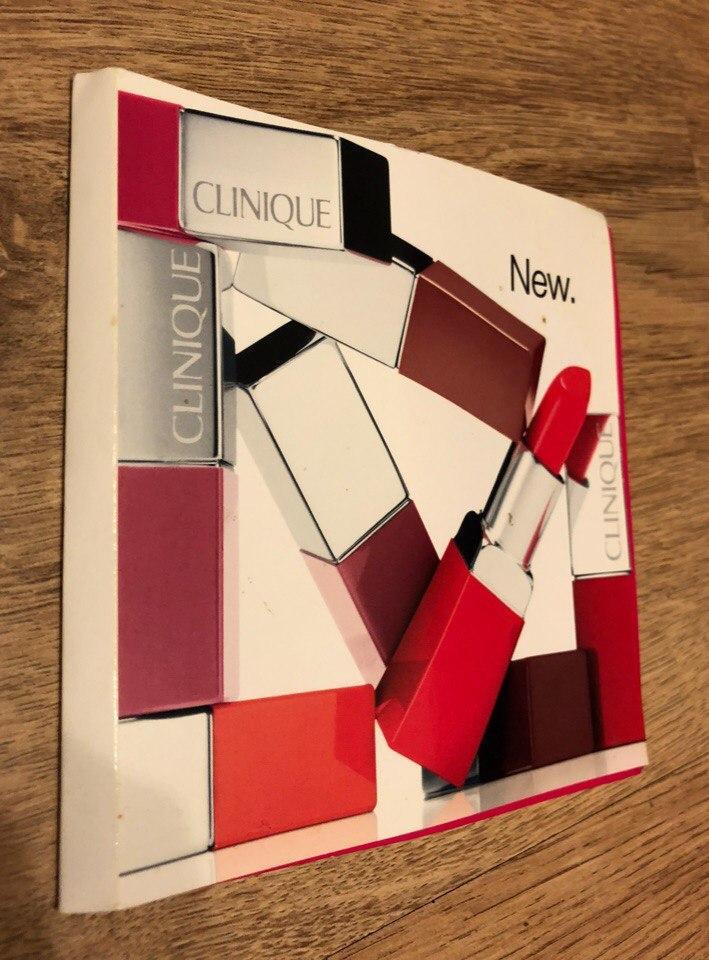 """Помада для губ """"интенсивный цвет и уход"""" Clinique Pop Lip Colour + Primer"""