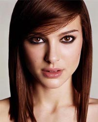 Миндалевидная форма глаз макияж - Натали портман