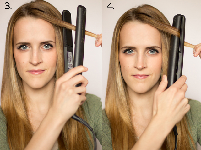 Как сделать локоны утюжком на короткие волосы пошаговое фото
