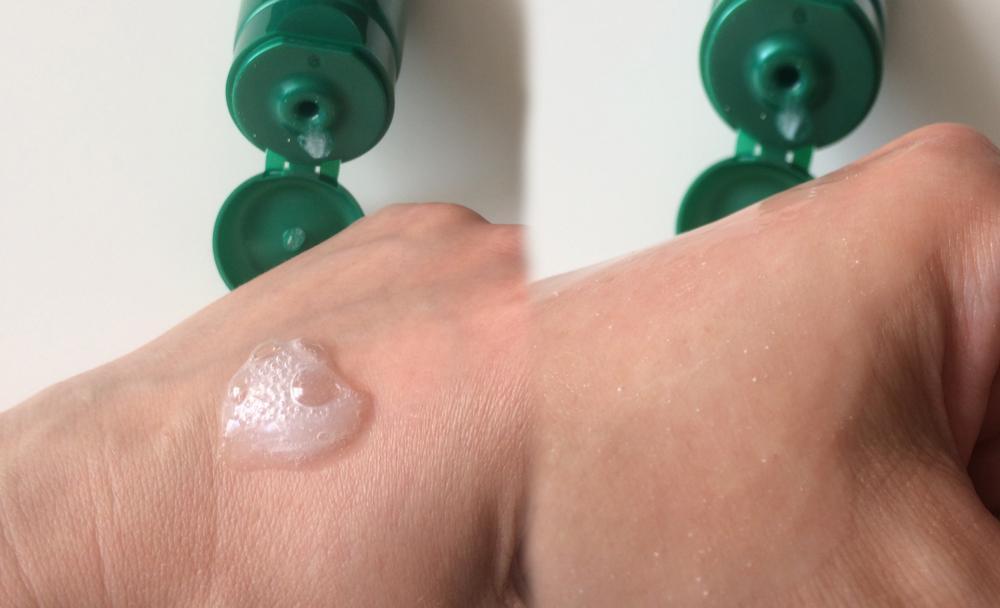 Очищающая пилинг-скатка для лица «Белита-М» Green Snake - консистенция и результат
