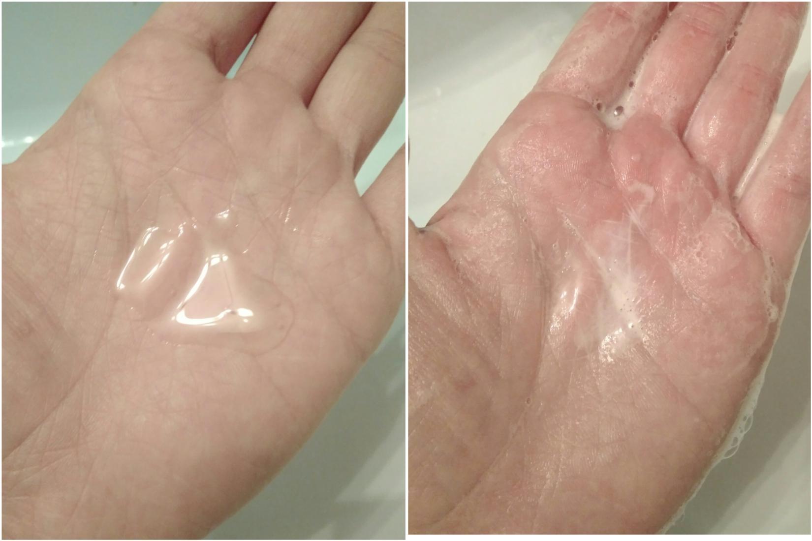 La Roche Posay Effaclar Purifying Foaming Gel. Пена, текстура