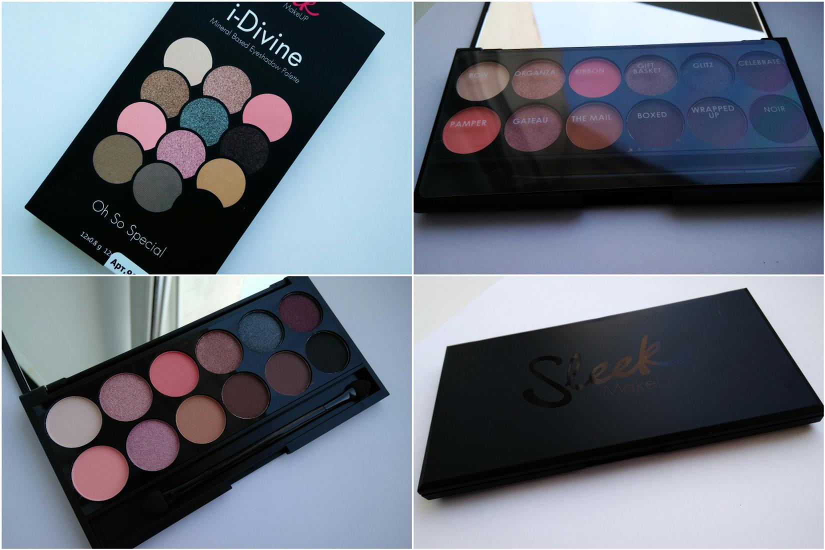 Sleek i-Divine 658 Oh So Special - общий вид палетки