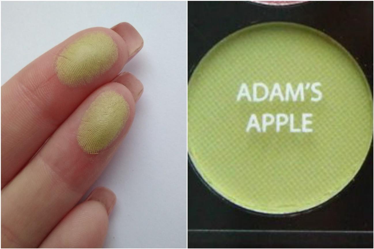 Палетка Sleek Garden of Eden - свотч Adam's apple