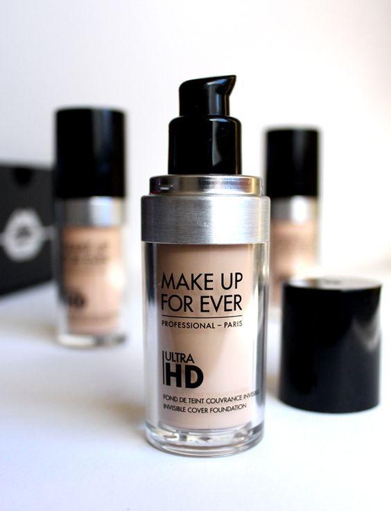MakeUpForEverUltraHD - тональная основа с эффектом влажной кожи