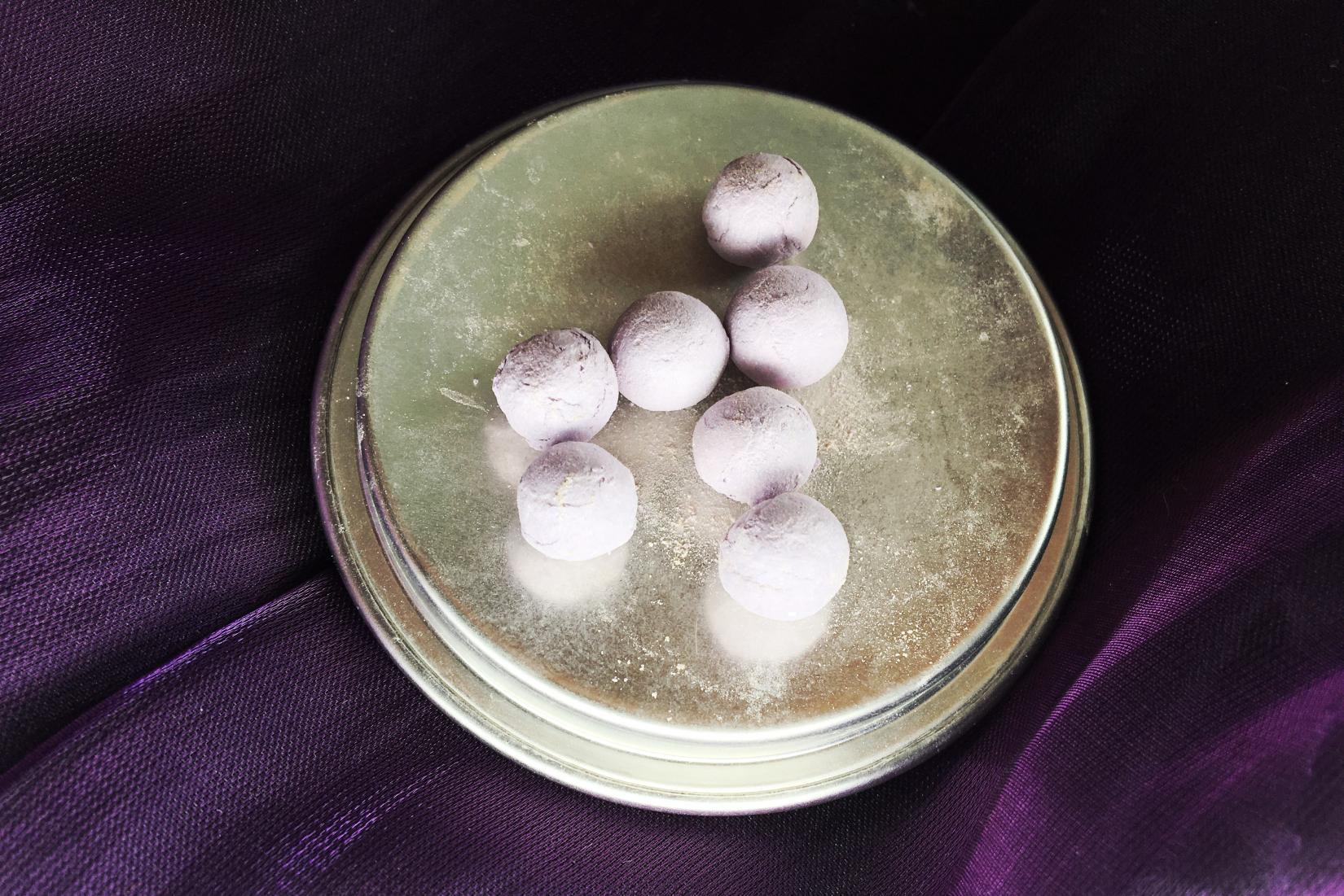 Guerlain Meteorites Perles - сиреневый оттенок