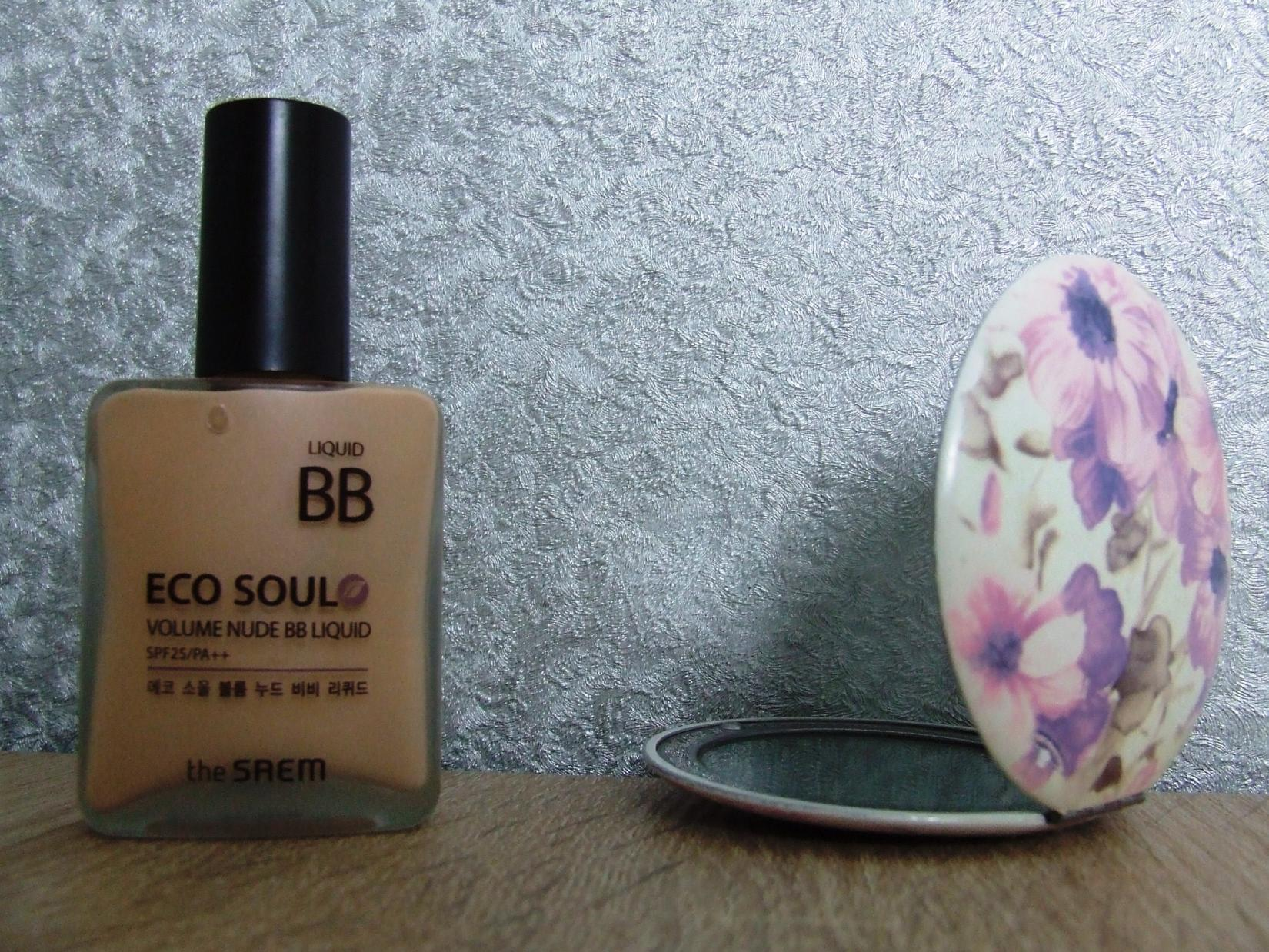 BB-крем The Saem Eco Soul Volume Nude BB Liquid