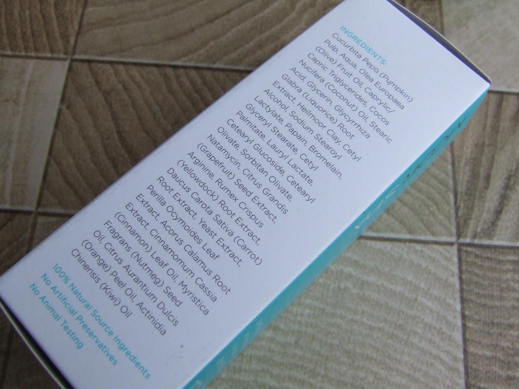 Тыквенный пилинг для кожи лица Moor Spa Pumkin Peel - инструкция