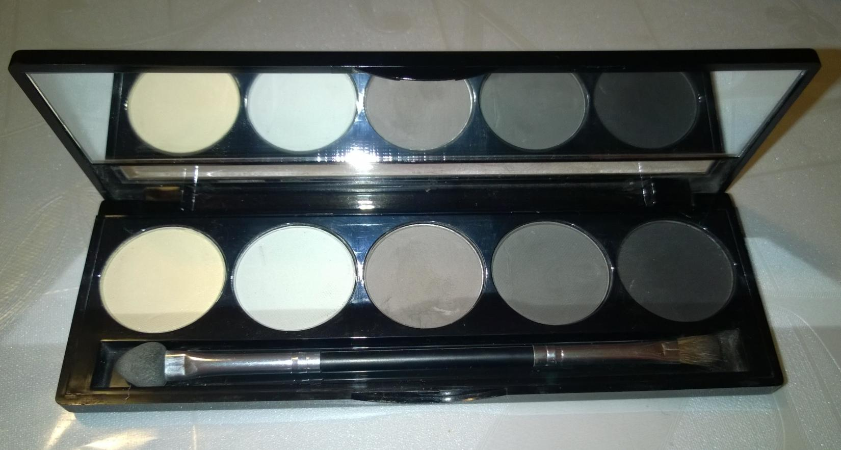 тени Isadora Eye Shadow Palette № 56 - в открытом виде