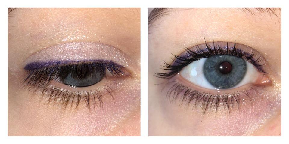 Карандаши Soda Velvet #eyeloveunicorns на глазах - тон 004 Lila Skies