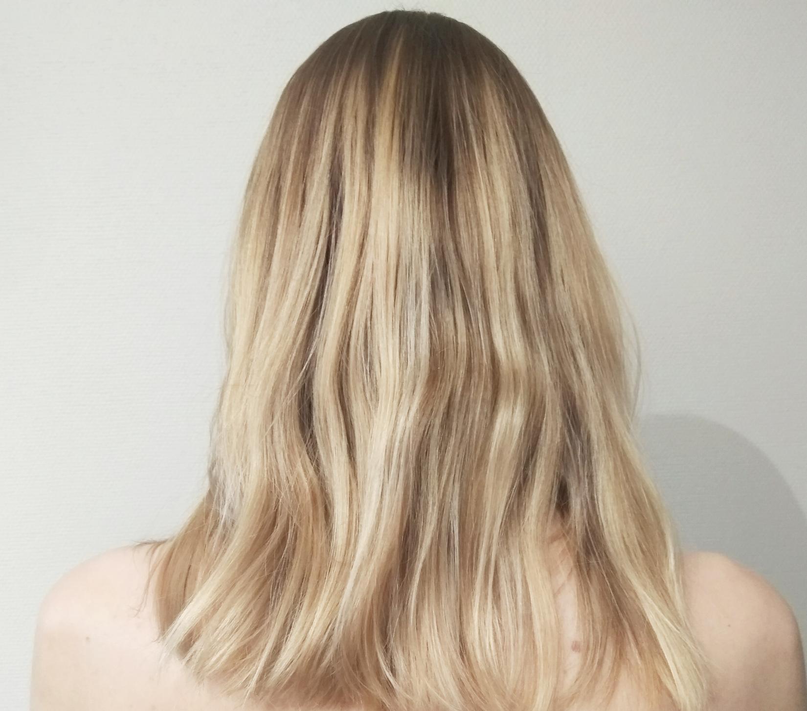 Волосы после кокосового масла