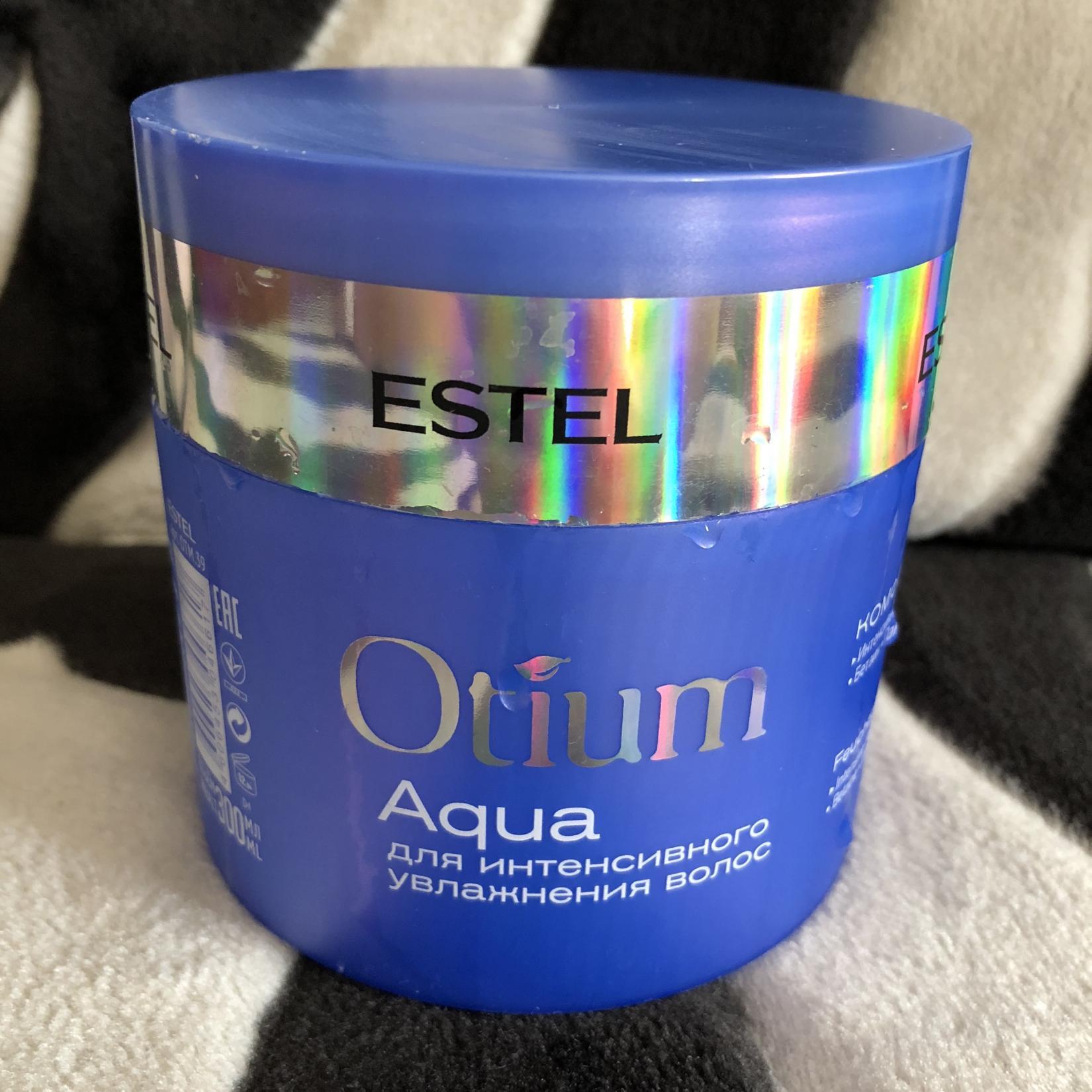 Маска Estel Otium Aqua для интенсивного увлажнения волос