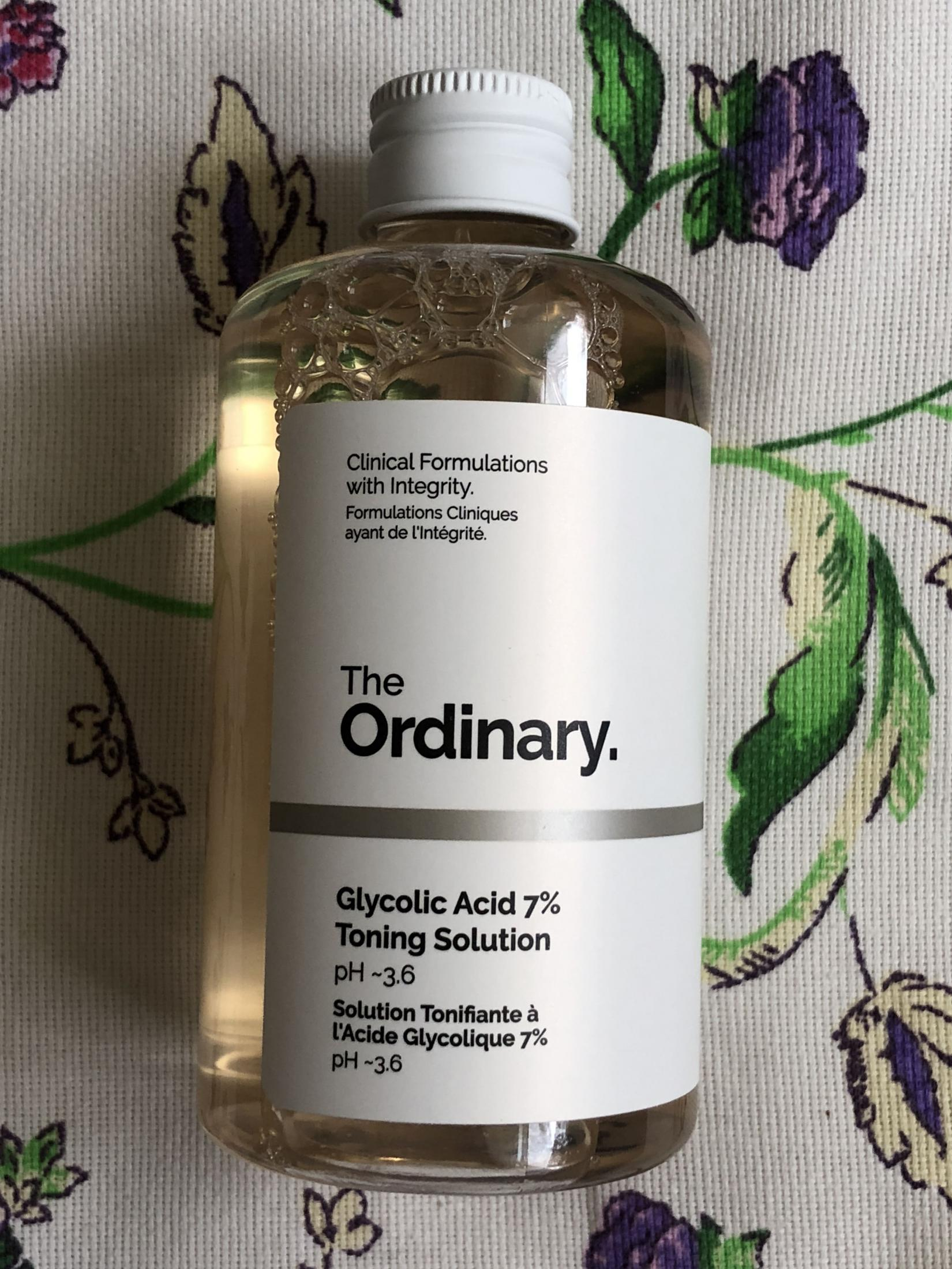 The Ordinary Glycolic Acid 7% Toning Solution. Флакон