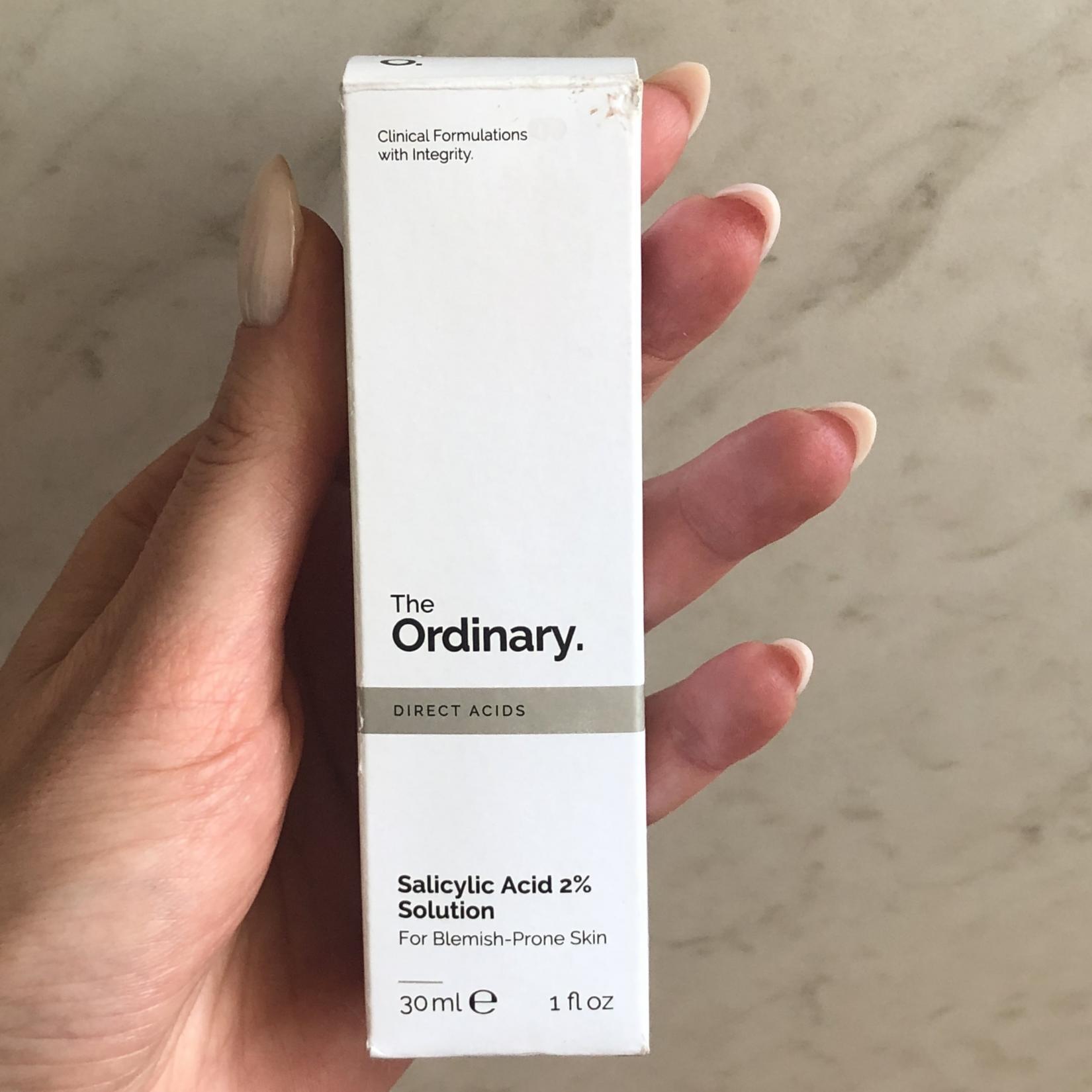 The Ordinary Salicylic Acid 2% Solution, кислотный уход для лица - коробка