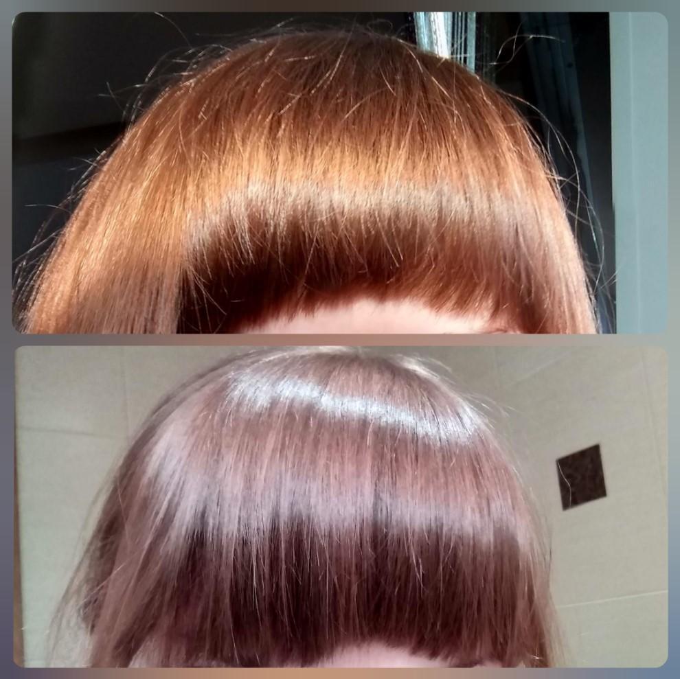 Эстель Я тон 6/43 Коньячный - ухоженные волосы