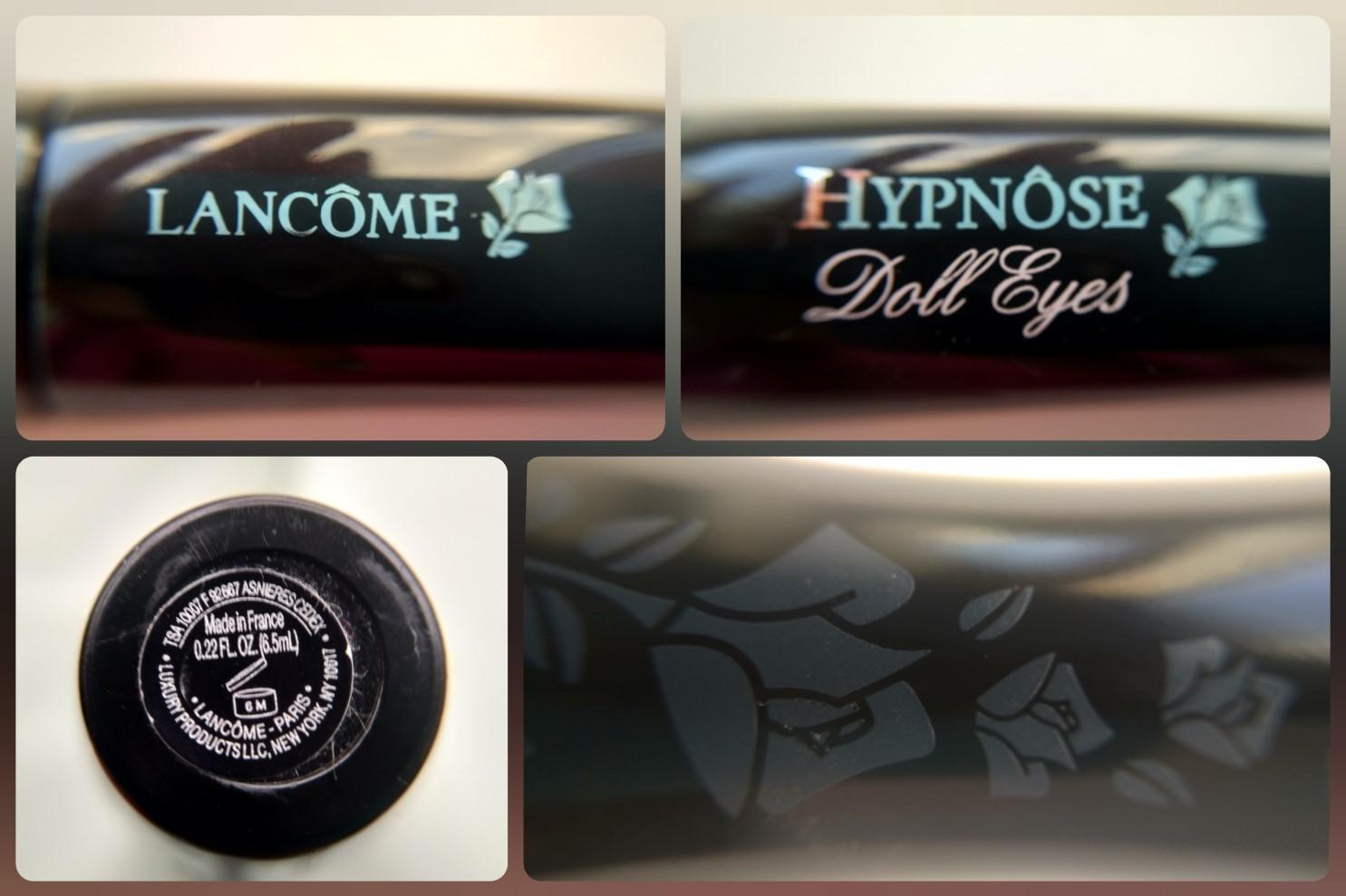 Тушь Lancome Hypnose Doll Eyes - детали оформления