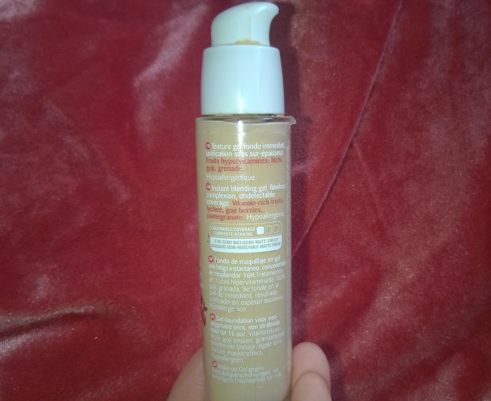 Тональный крем Bourjois Healthy Mix Serum - описание производителя