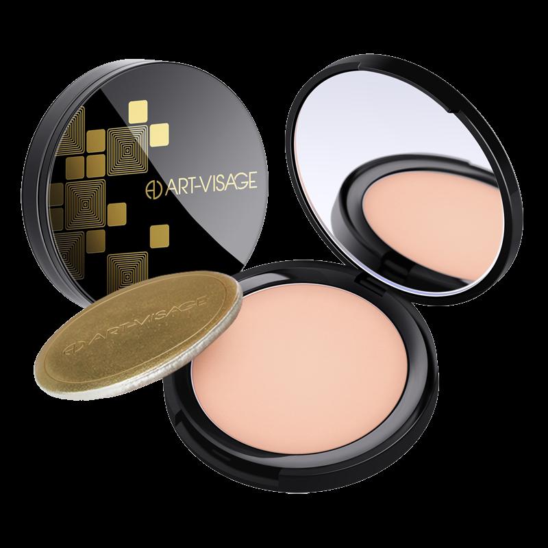Компактная пудра Art-Visage Perfect Skin для жирной и комбинированной кожи