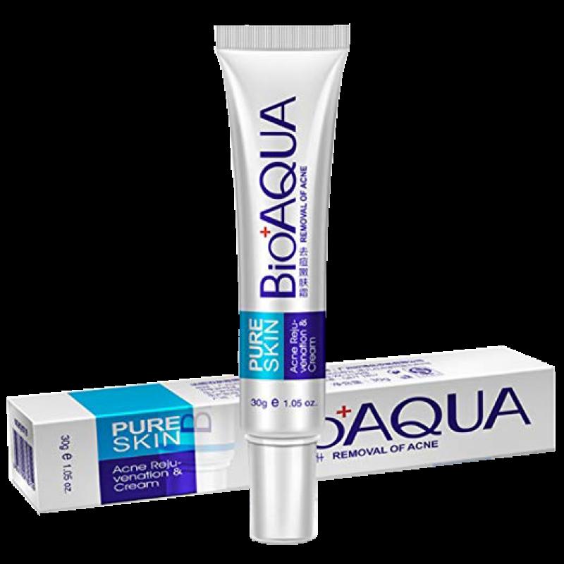 Крем для устранения акне BioAqua Pure Skin Acne Rejuvenation & Cream