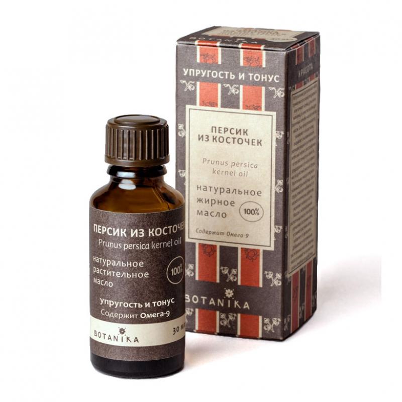 Натуральное жирное масло Botanika Персик Из косточек (Prunus persica kernel oil)