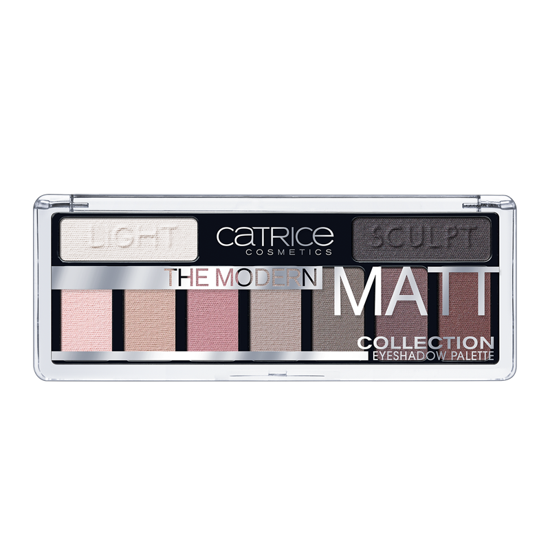 Палетка матовых теней Catrice The Modern Matt Collection Eyeshadow Palette