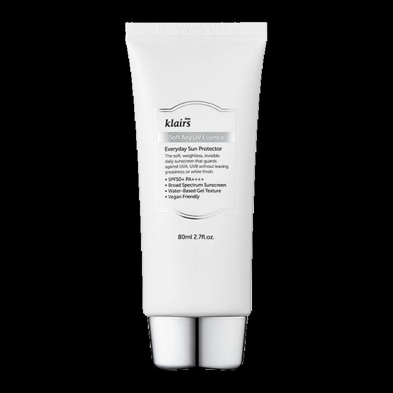 Солнцезащитный крем эссенция Dear Klairs Soft Airy UV Essence SPF50 PA++++