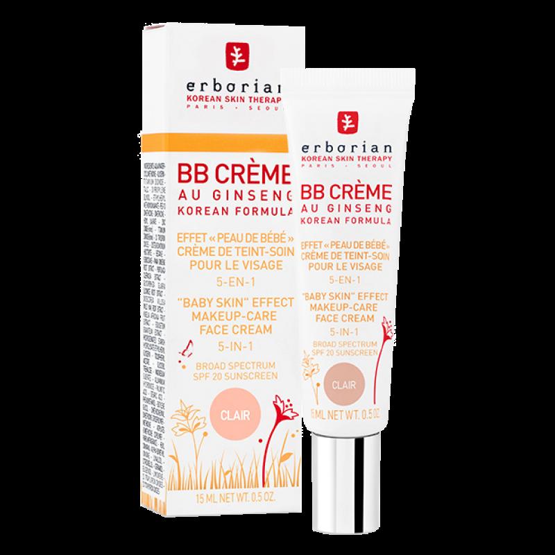 ВВ-крем Erborian Au Ginseng BB Cream с женьшенем 5 в 1 SPF20