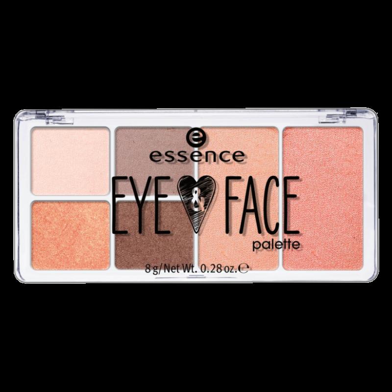 Палетка для макияжа глаз и лица Essence Eye & Face Palette