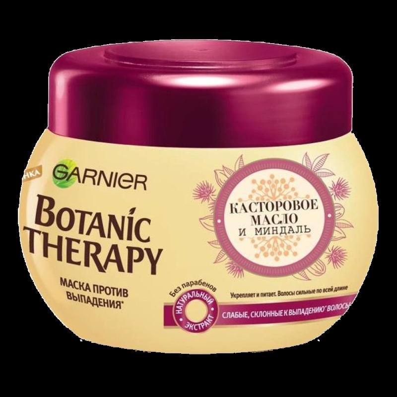 Маска для волос Garnier Botanic Therapy Касторовое масло и миндаль для ослабленных волос, склонных к выпадению