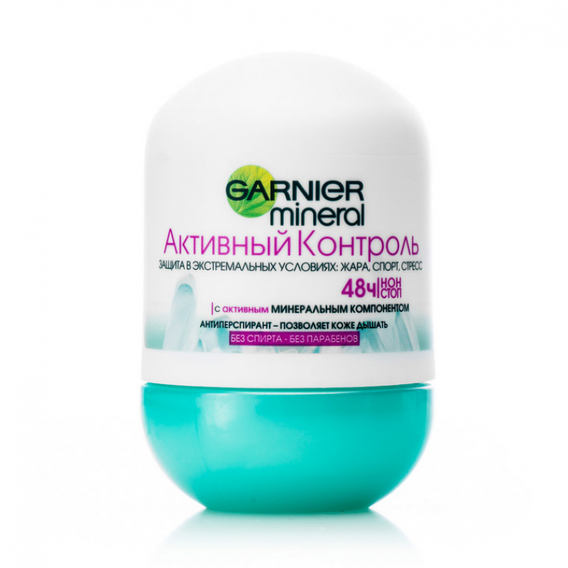Дезодорант-антиперспирант Garnier Mineral Активный Контроль 48 ч шариковый