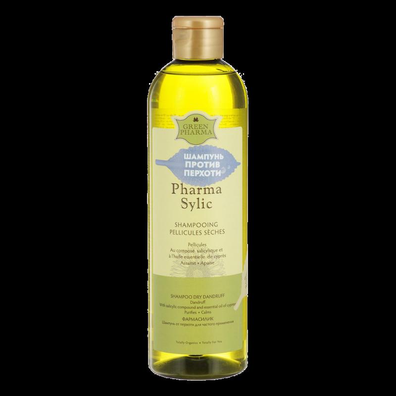 Шампунь Green Pharma Pharma Sylic против перхоти Dry Dandruff Shampoo
