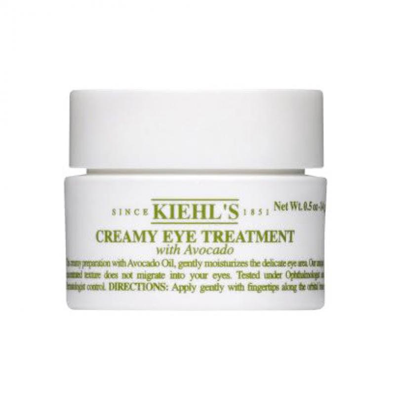 Крем для кожи вокруг глаз Kiehl's Creamy Eye Treatment с экстрактом авокадо