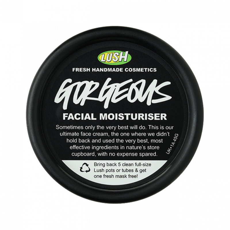 "Крем для лица Lush Gorgeous ""Роскошь"" facial moisturizer"