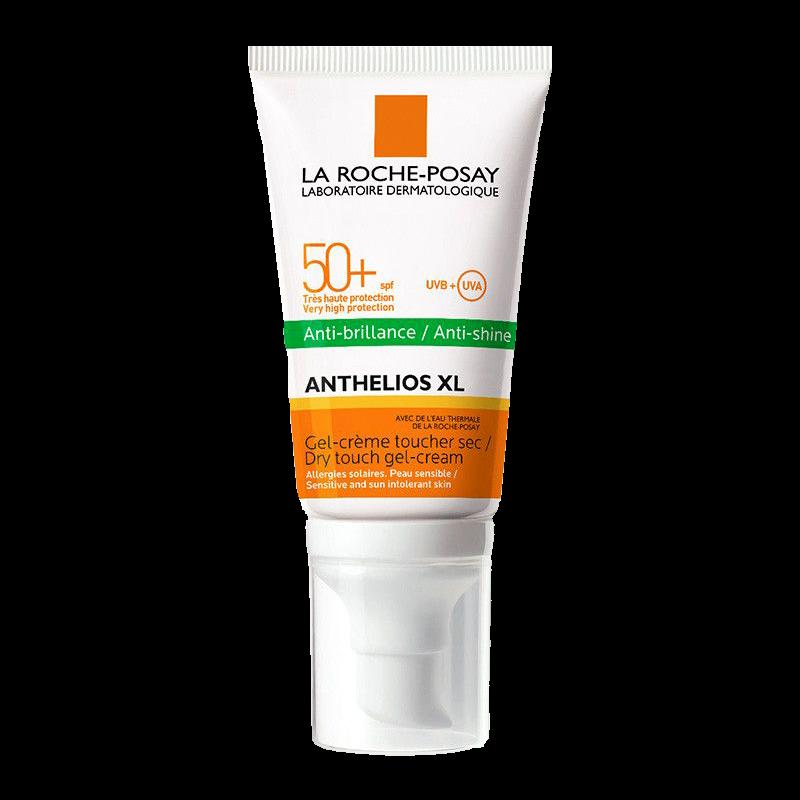 Солнцезащитный гель-крем La Roche-Posay Anthelios XL Anti-shine SPF50+ матирующий для жирной кожи