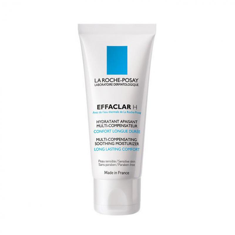Мультивосстанавливающий крем La Roche Posay Effaclar H увлажняющий успокаивающий для пересушенной кожи