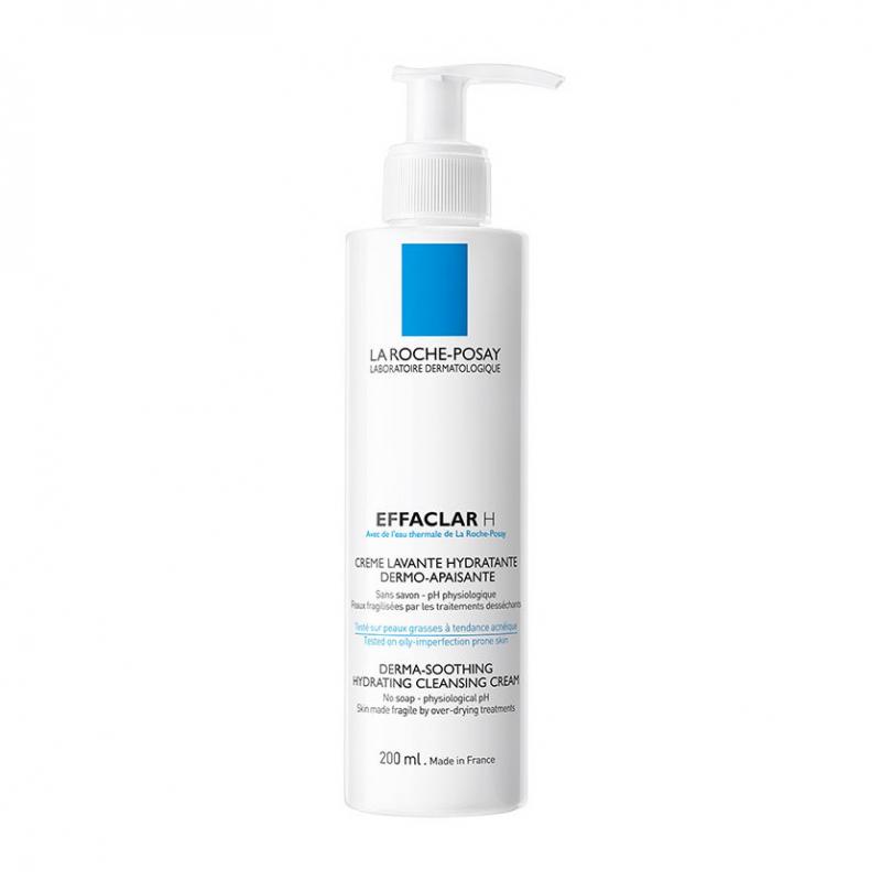 Очищающий крем-гель La Roche Posay Effaclar H увлажняющий и успокаивающий для пересушенной кожи