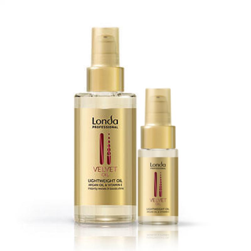 Масло для волос Londa Professional Velvet Oil восстанавливающее аргановое без утяжеления