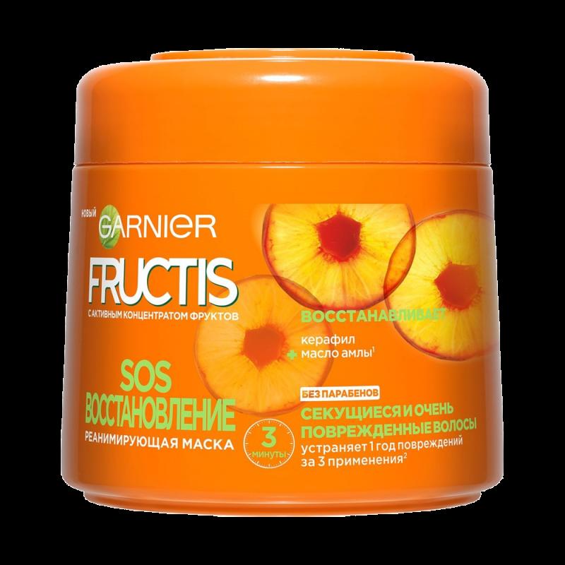 Маска для волос Garnier Fructis SOS восстановление Реанимирующая