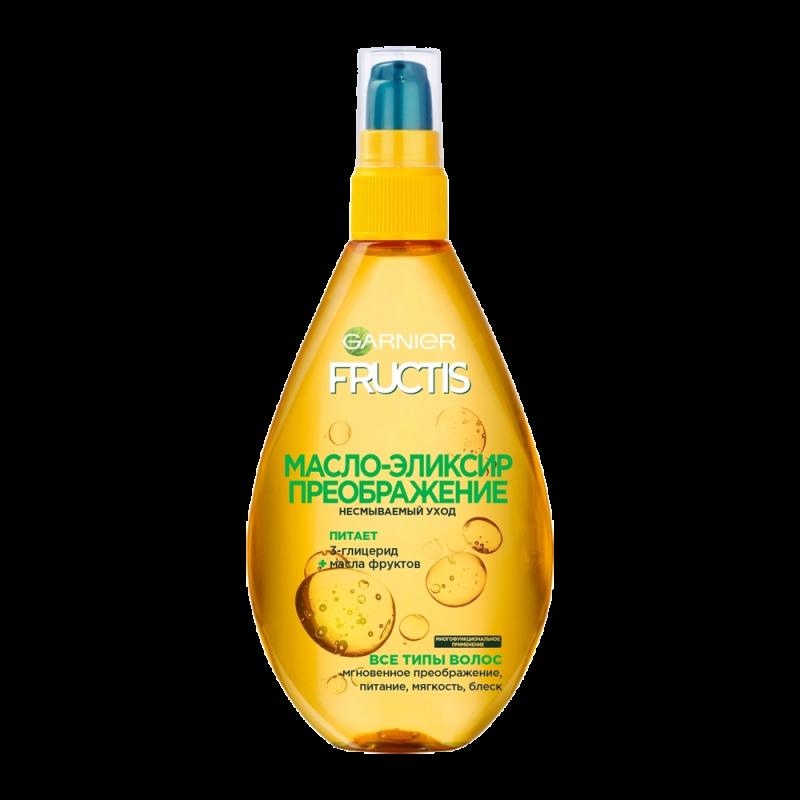 Масло-эликсир для волос Garnier Fructis Преображение