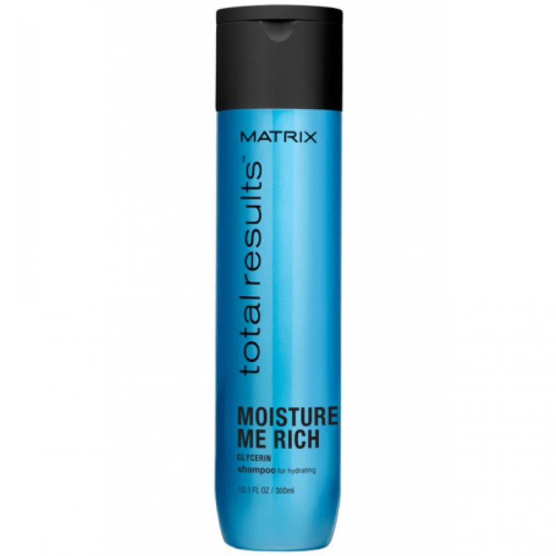 Шампунь Matrix Total Results Moisture Me Rich Shampoo с глицерином для увлажнения волос