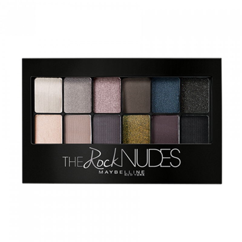 Палетка теней для век Maybelline The Rock Nudes Eyeshadow Palette