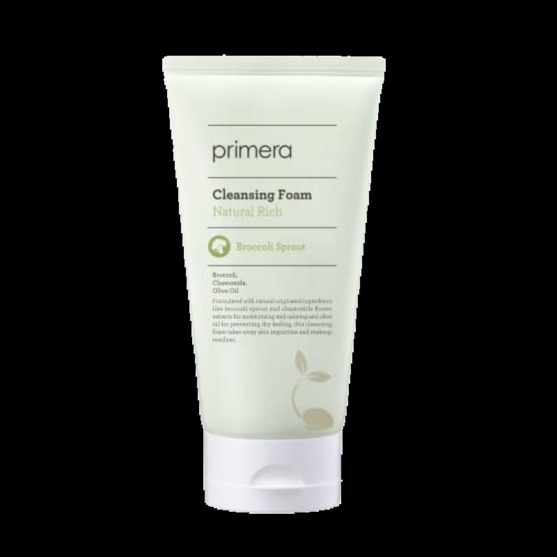 Пенка для умывания Primera Natural Rich Cleansing Foam с ростками брокколи
