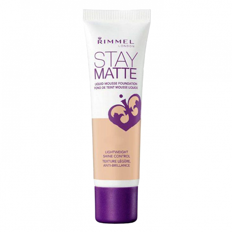 Тональный крем-мусс Rimmel Stay Matte Liquid Mousse Foundation