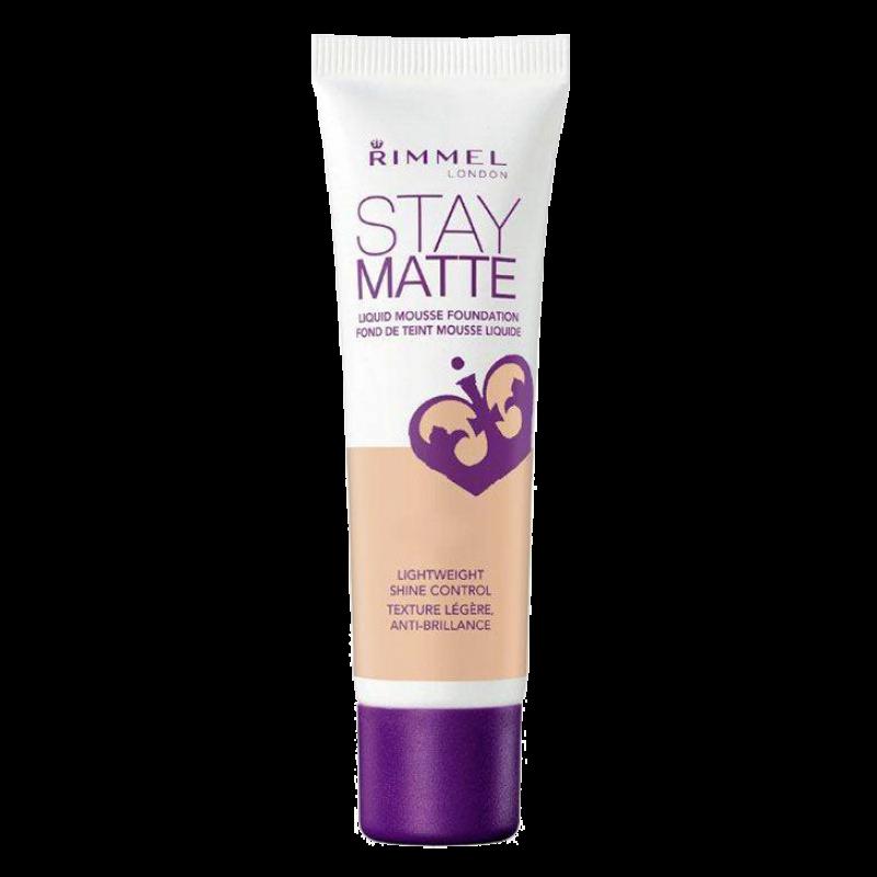 Тональный крем-мусс Rimmel Stay Matte Liquid Mousse Foundation