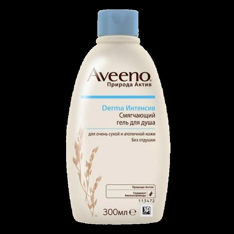 Смягчающий гель для душа Aveeno Derma Интенсив для очень сухой и атопичной кожи Без отдушки
