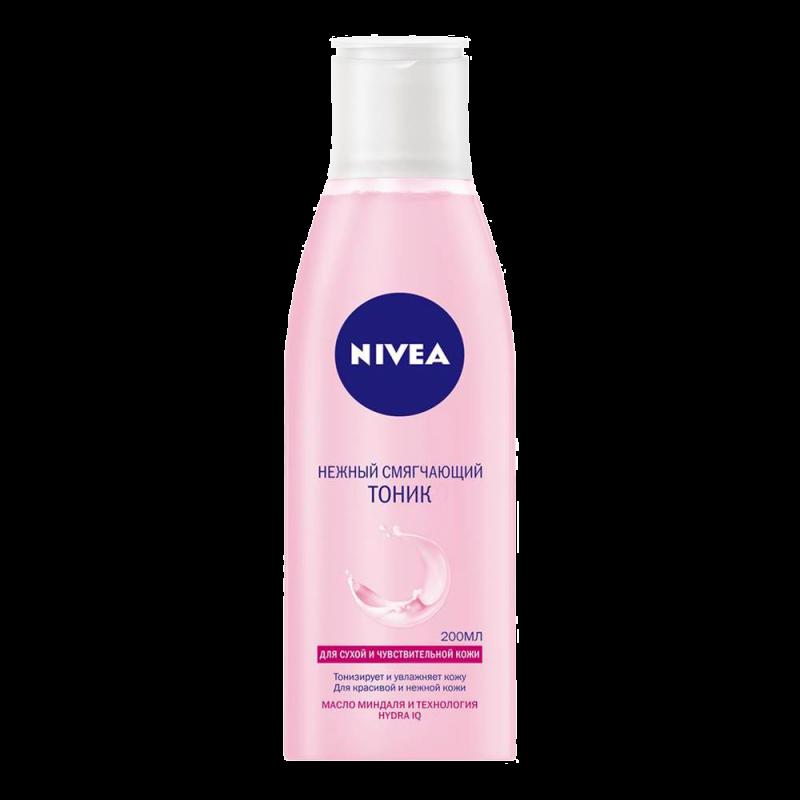 Тоник для лица Nivea Нежный Смягчающий для сухой и чувствительной кожи