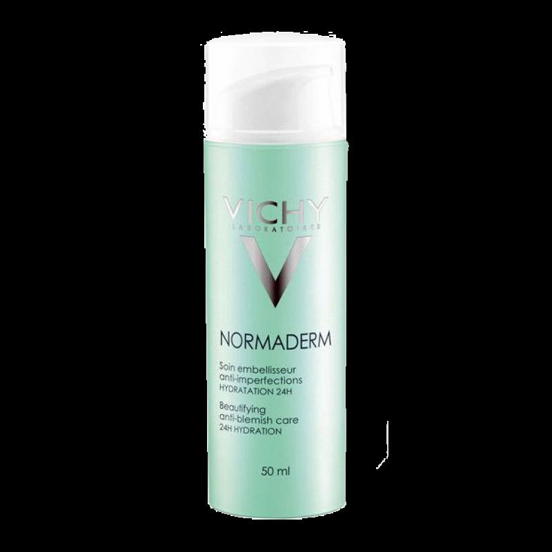 Корректирующий уход против несовершенств Vichy Normaderm 24 часа увлажнения (Beautifying anti-blemish care 24H hydration)
