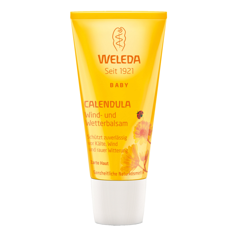 Детский защитный бальзам Weleda от ветра и холода с календулой (Weleda Calendula Weather Protection Cream)