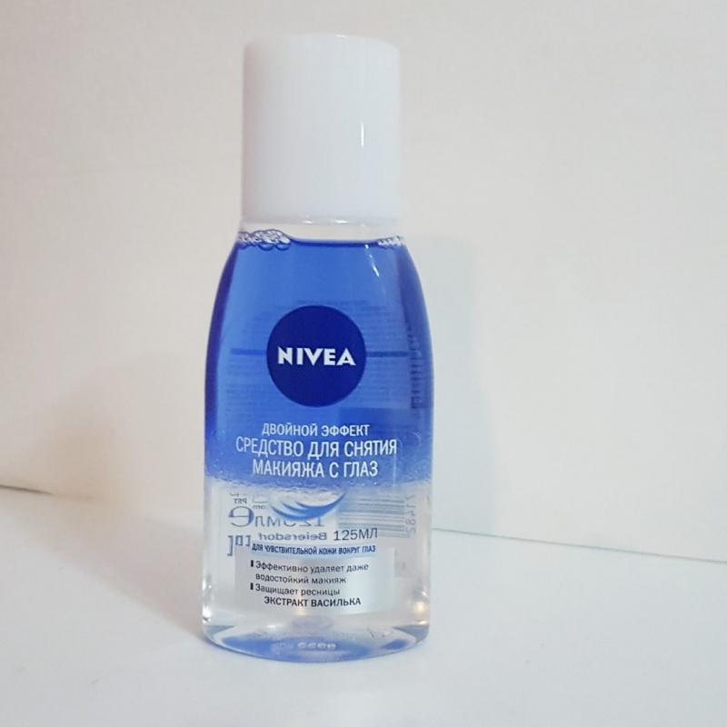 Средство для снятия макияжа Nivea Двойной эффект Экстракт василька